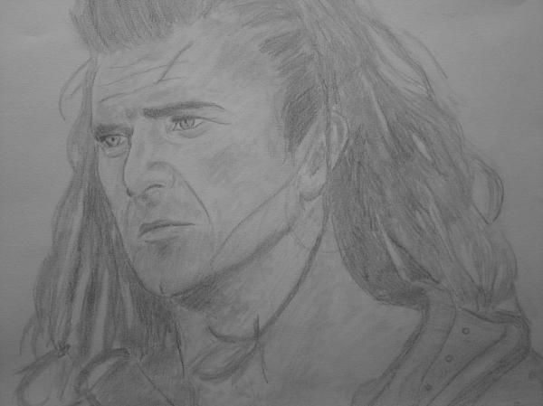 Mel Gibson by VladUrka